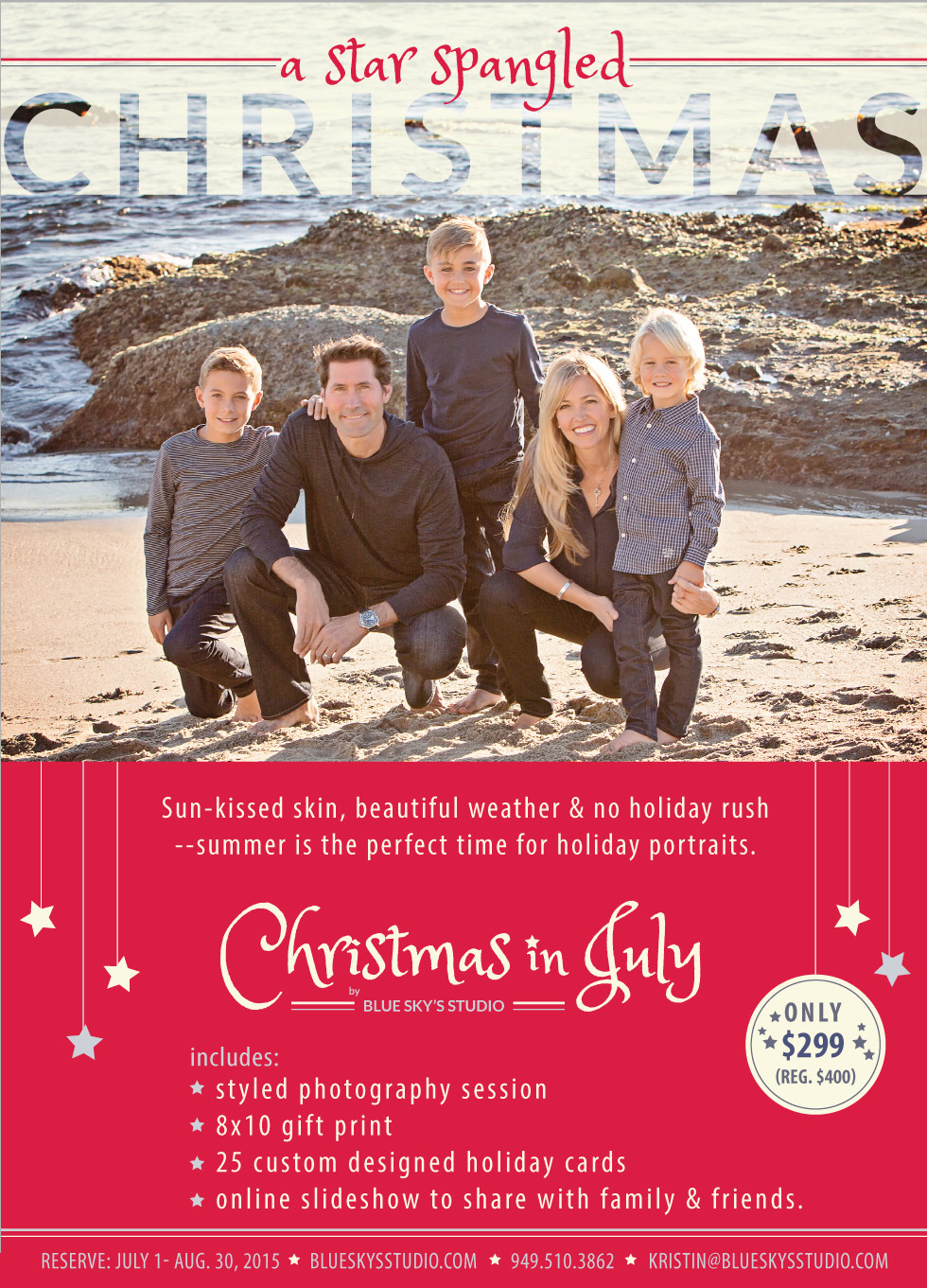 Christmas in July Photo Sessions