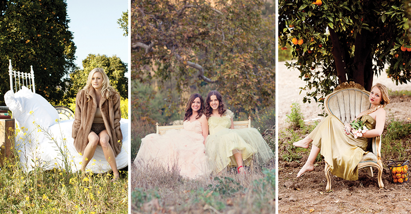 nature glamour gowns