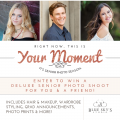 Enter to win a senior photo session giveaway