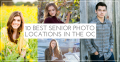 The best places for senior photos in Orange County, California