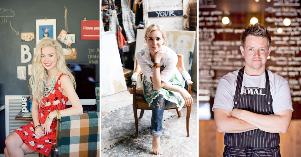 artist chef creatives headshots