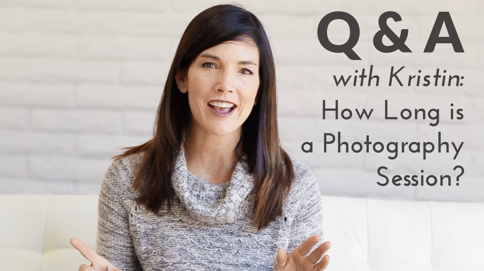 how long is a photography session