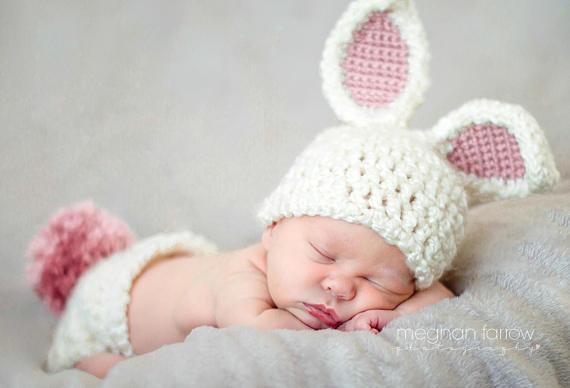 baby bunny photo