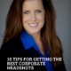 10 Tips for getting ready for your corporate headshot session