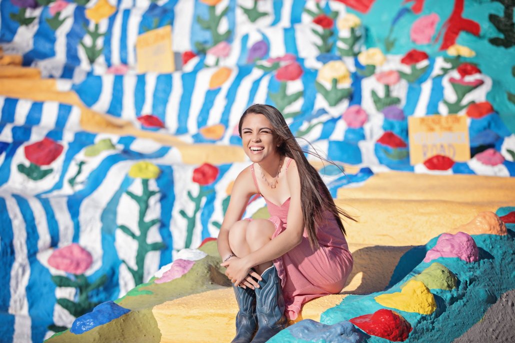 salvation mountain portrait
