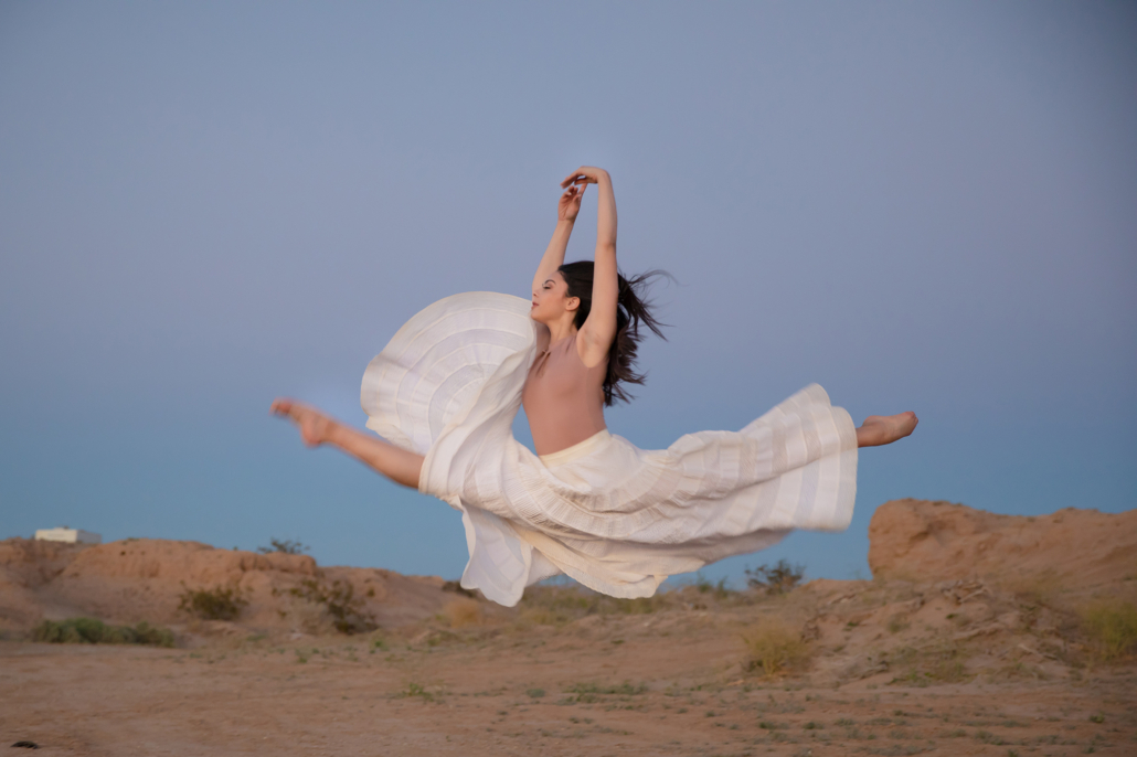 dancer portraits in the desert