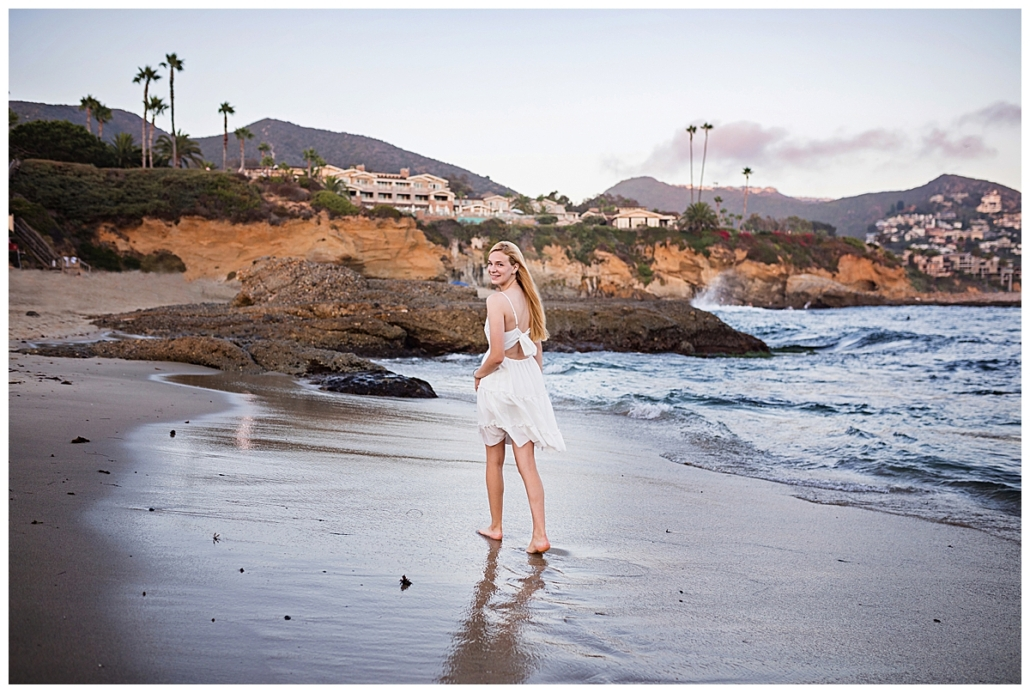 The Montage Resort Laguna Beach High school senior portraits