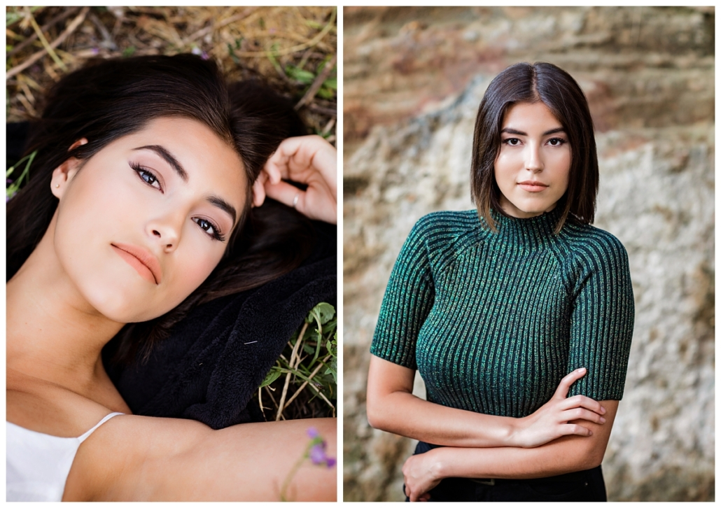 Laguna Beach high school senior girl photo session