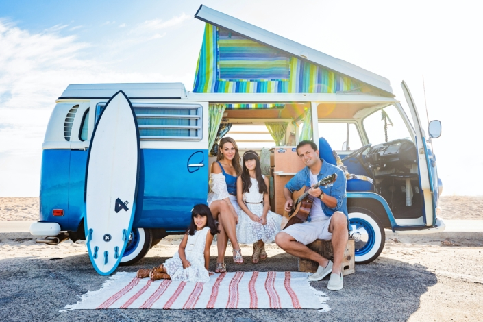 OC family portrait session in Huntington Beach